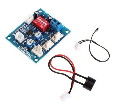 Ventoinhas 70mm PWM + Módulo Controlo de Temperatura PWM 12V