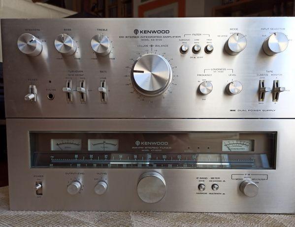 Kenwood KA-8100 + KT-8300 Vintage High End!