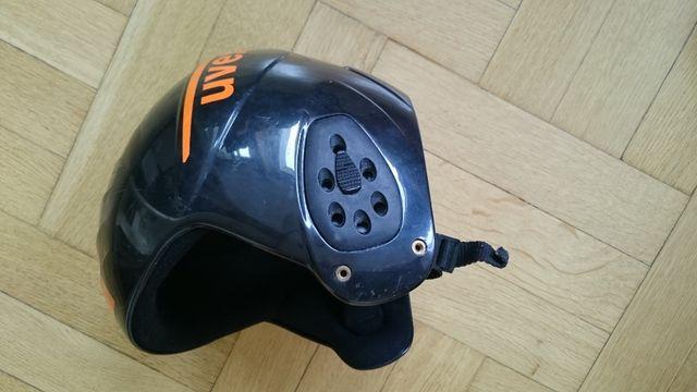 Sprzedam używany kask narciarski dziecięcy + gogle Firmy UVEX