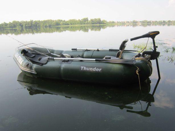 Лодка 2-х местная Thunder T-270LM спец заказ из плотной ткани