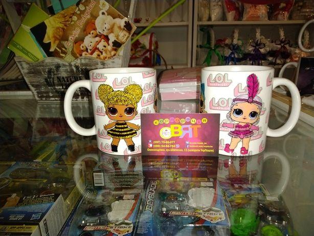 Чашка кукла LOL ЛОЛ