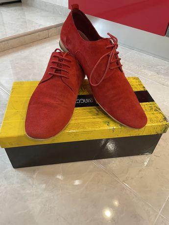 Туфли замшевые красные Antonio Biaggi 41 размер
