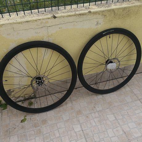 Rodas ciclismo disco triban rc500