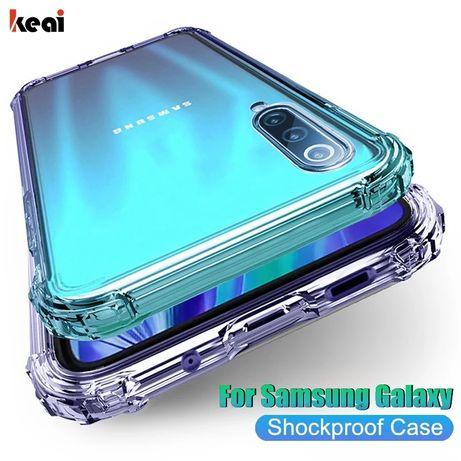 Samsung s20 plus чехол захисний прозорий, силіконовий