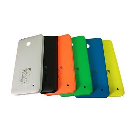 Nokia Lumia 630 635 dual sim ЧЕРНАЯ качественная задняя крышка корпуса