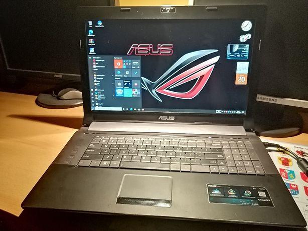 Asus 17,3, i7, SSD 256 Nowy Goodram, Ram 8, GT 540M, Laptop N73SV