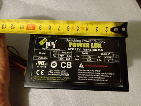 Блок питания SFX / micro ATX 400W
