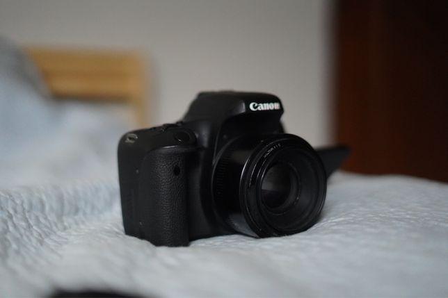 Canon 760D (ediç. limitada) c/ lente 50mm 1.8 com exemplos