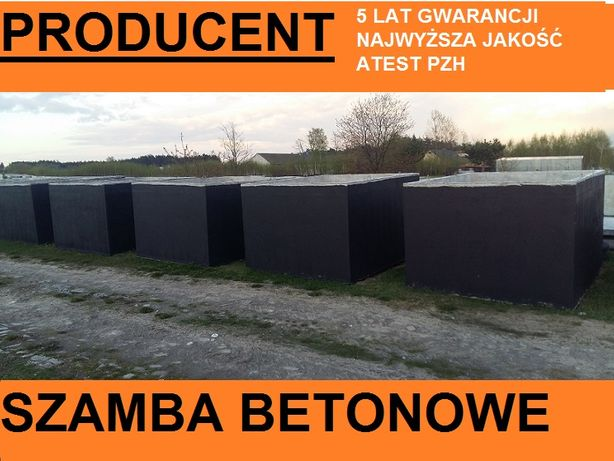 Szamba, szambo Góra Kalwaria,Konstancin, Otwock,Warszawa 5-12m3