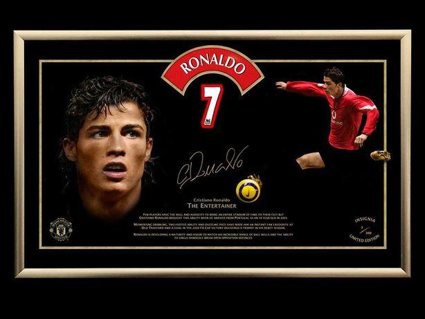 Cristiano Ronaldo, Edicão limitada. Numero 163/300