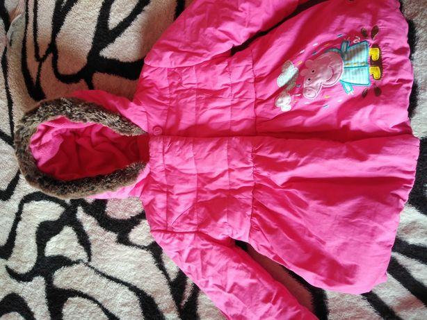 Курточка на девочку демисезонная.