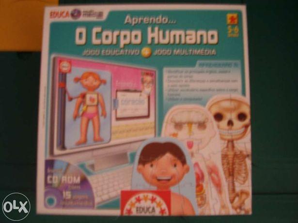Jogo Puzzle o Corpo Humano
