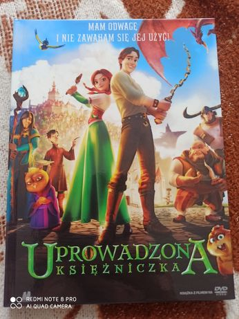 Uprowadzona księżniczka DVD -raz obejrzana