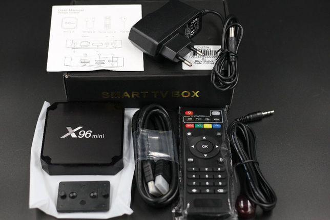 2+16 ГБ тв приставка смарт андроид, tv box x96mini/H96 MAX