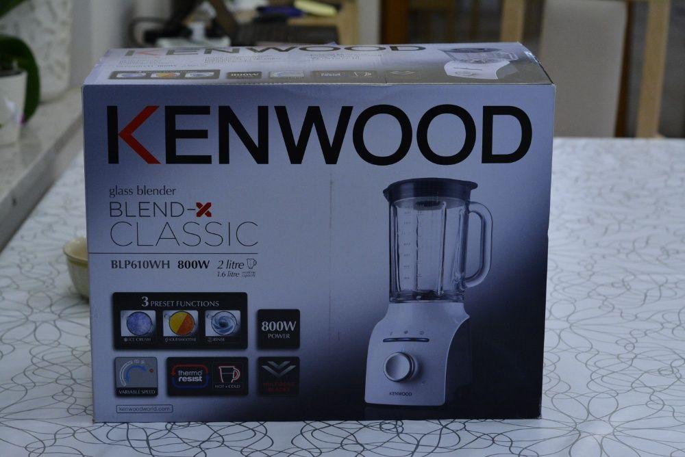 Kenwood blender kielichowy stojący 800W biały BLP610WH Lublin - image 1