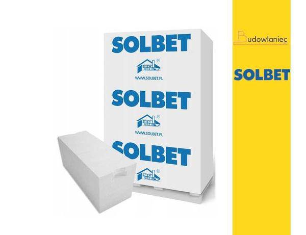 Gazobeton pustak bloczek 24x24x59 biały P+W Suporex Solbet +transp HDS