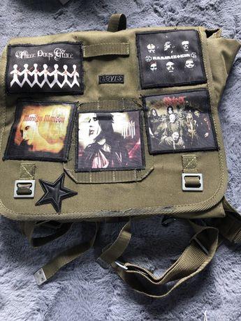 Kostka torba metal/ rock Marilyn manson/ slipknot / rammstein