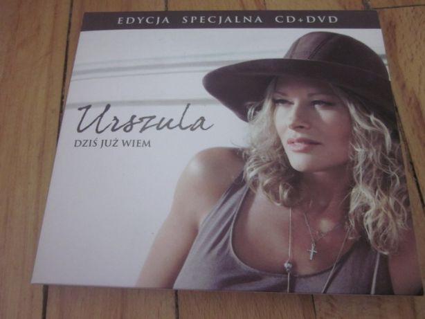 """Urszula """"Dziś już wiem"""" CD+DVD"""