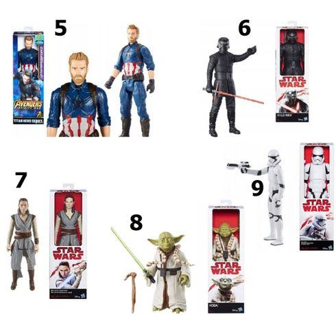 Figurka 30 cm STAR WARS, SpiderMan, Avengers