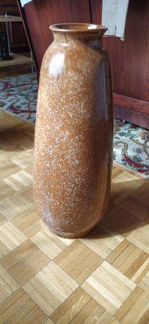Wielki wazon z kamionki do stawiania na podłodze wysokość 60 cm