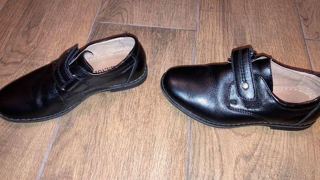 Туфлі шкіряні на хлопчика 28 розмір