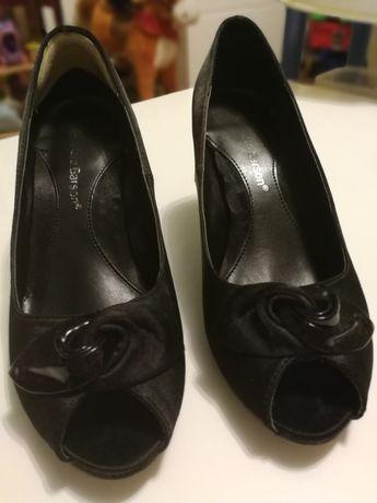 Buty obcasy szpilki czarne rozm 37