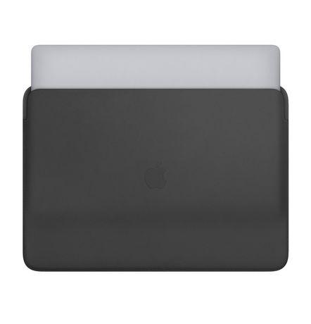 Nowy oryginalny APPLE skórzany futerał MacBook Pro 16 Czarny