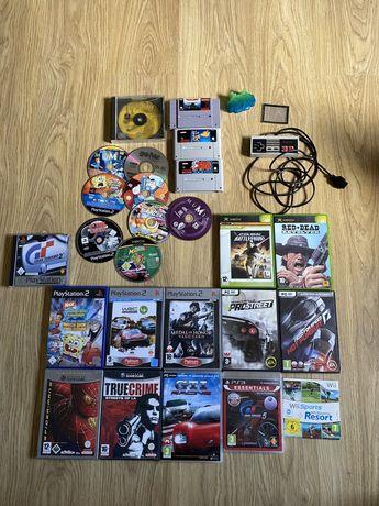 Kolekcja gier gamecube nintendo psx ps1 ps2 xbox snes