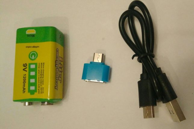 Аккумулятор Крона - 6LF22 -6LR61 - MN1604 9V