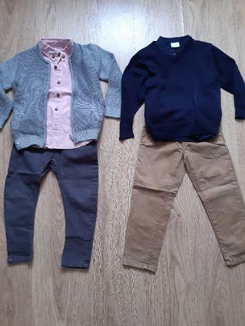 Zestaw ubrań paka dla chłopaka 98/104 Zara, H&M, Reserved, F&F, Lacost
