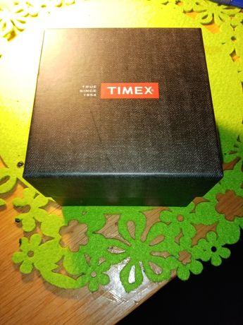 Timex drewniane pudełko po zegarku