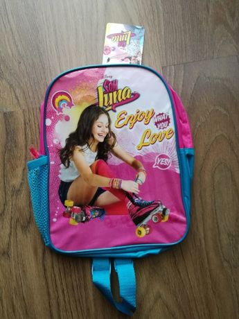 Plecak dziecięcy szkolny przedszkolny LUNA Disney - NOWY metka