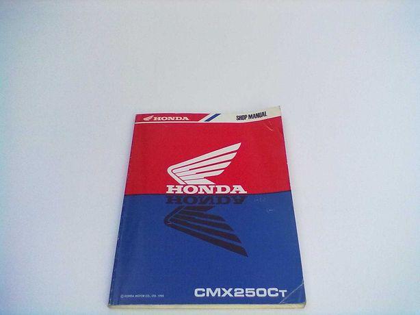 Manual Técnico Oficial Honda Rebel CMX 250 Ct