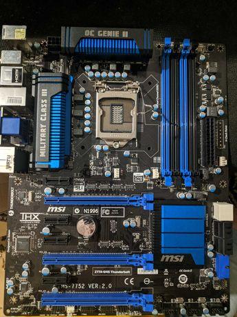 MSI Z77A-G45 + i5 3570k