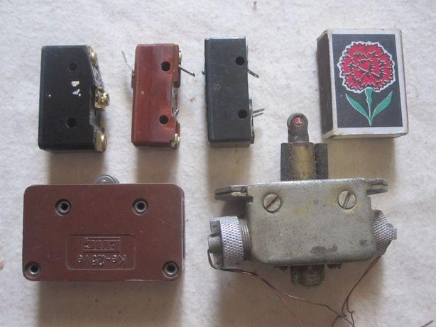 Концевики, выключатели