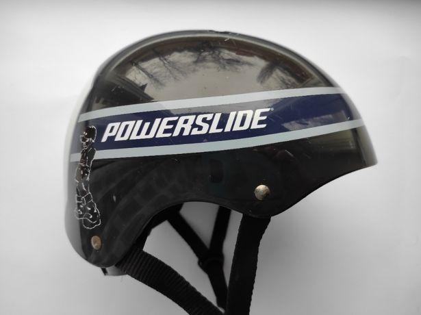 Детский шлем котелок Powerslide, размер 48-52см, BMX, для роликов