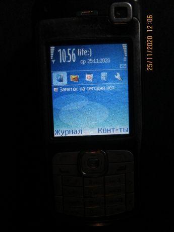 Продам недорого мобильный телефон: NOKIA N70-1 Цвет: чёрный.