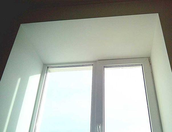 Качественные откосы на окна и двери .