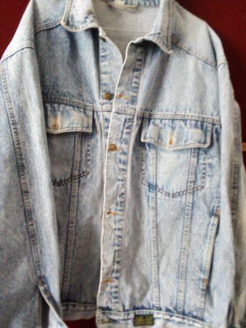 Vintage Kurtka jeansowa, dżinsowa. XL