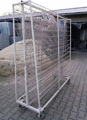 Suszarnie wózki do gipsu betonu drewna ceramiki