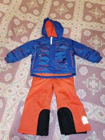 Зимовий конбінезон для хлопчика термо lupilu лижний костюм дитячий 86