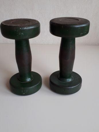 Гантели 3 кг СССР