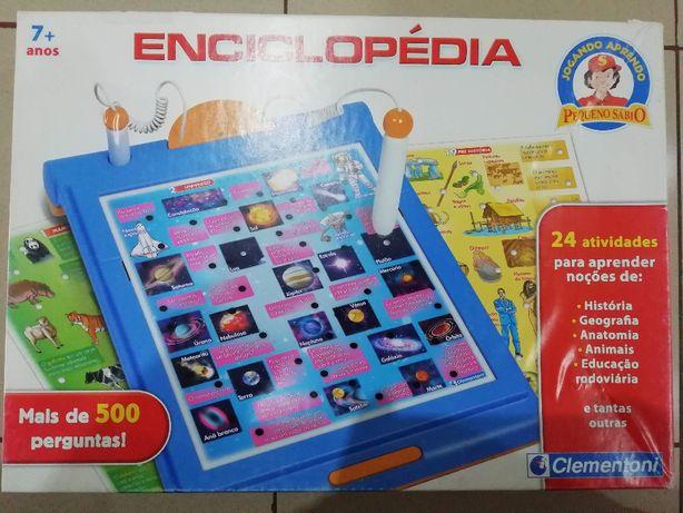 Enciclopédia interativa Clementoni