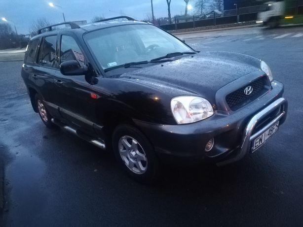 Hyundai Santa Fe 2005, poj. 2400, 145 kW, Benzyna +LPG
