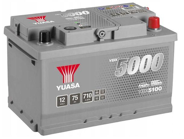 Akumulator Yuasa 75 AH / sklep/ DOSTAWA DO DOMU