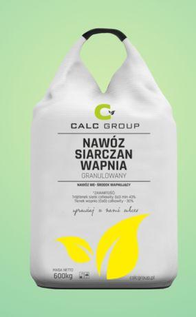 Nawóz Siarczan Wapnia big bag na rzpaki i warzywa 24tony