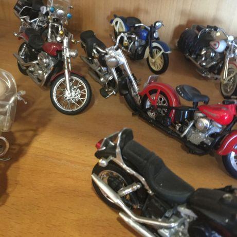 Coleção Harley Davidson Miniaturas