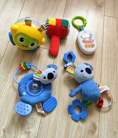 Zabawki dla malucha dziecka Fisher-Price, Smiki kula zawieszka inne