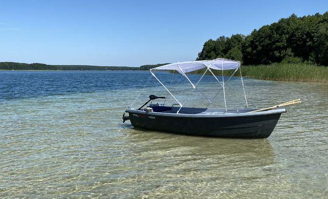 Łódź łódka wiosłowa wędkarska POLPORT 400 NOWOŚĆ
