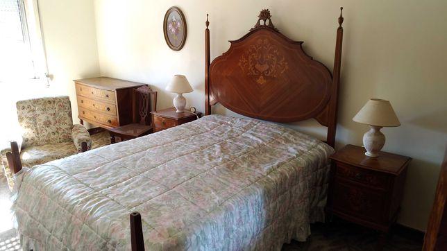 Mobílias completas antigas quarto, sala e hall para despachar urgente